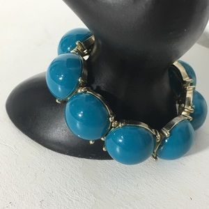 Jewelry - Blue Green Turquoise Beaded Stretchable Bracelet